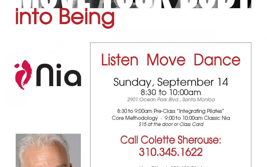 Listen Move Dance w/ Ken Gilbert